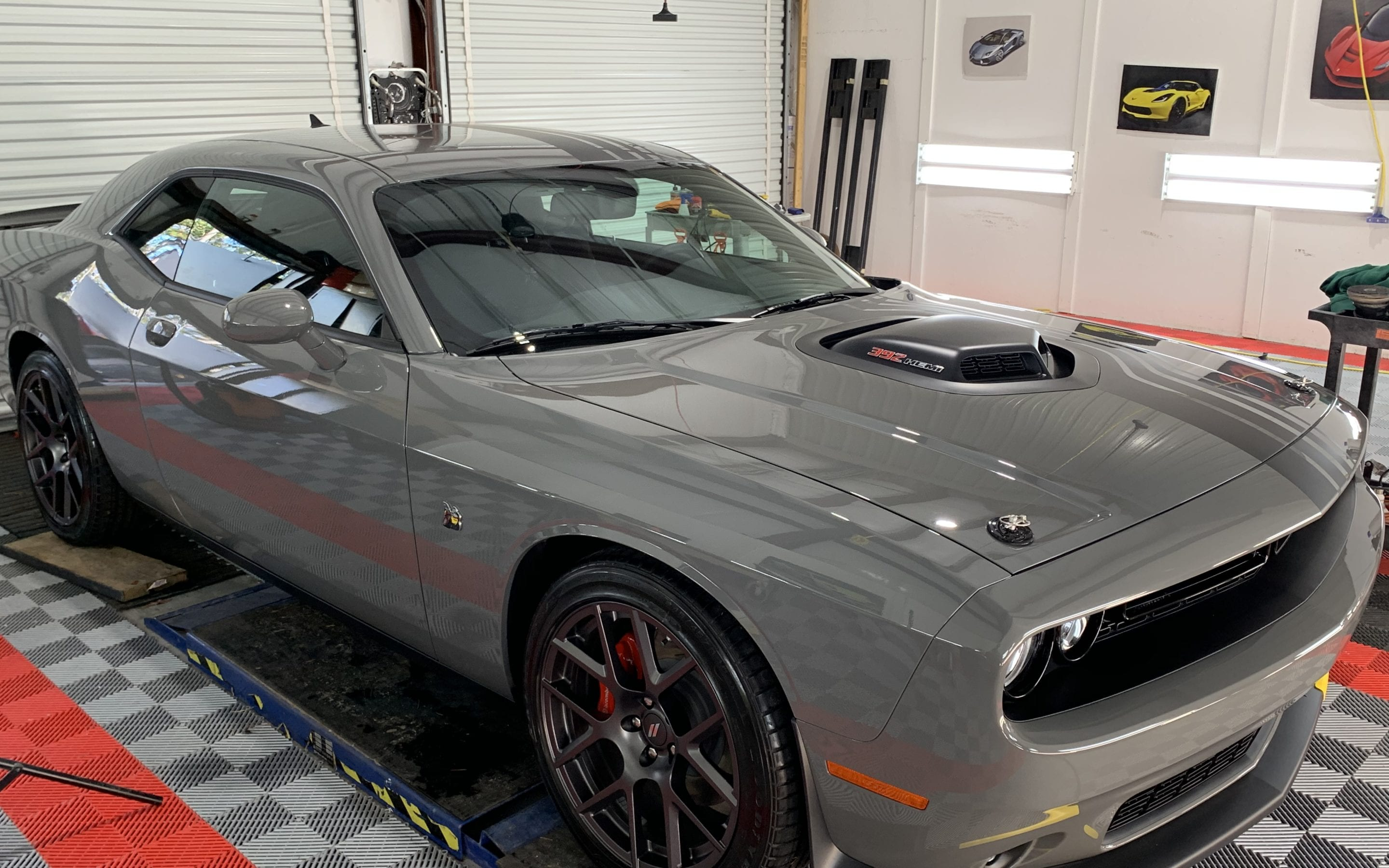 New Car Preparation of a 2019 Dodge Challenger