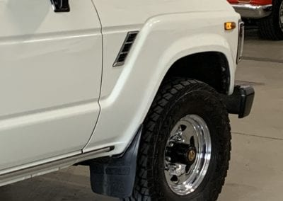 Photos of a Full Detail of a 1988 Toyota Land Cruiser