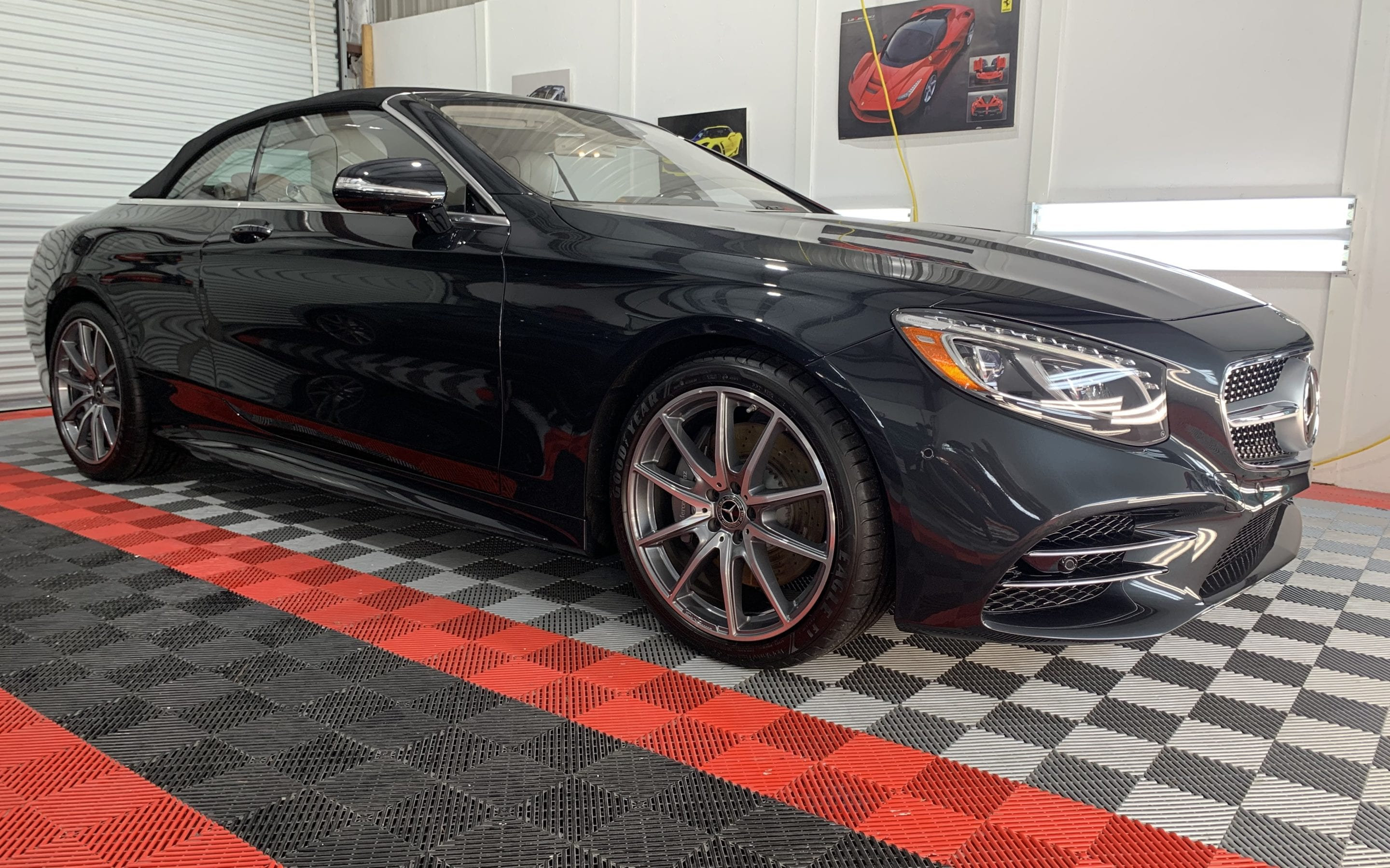 New Car Preparation of a 2020 Mercedes S560
