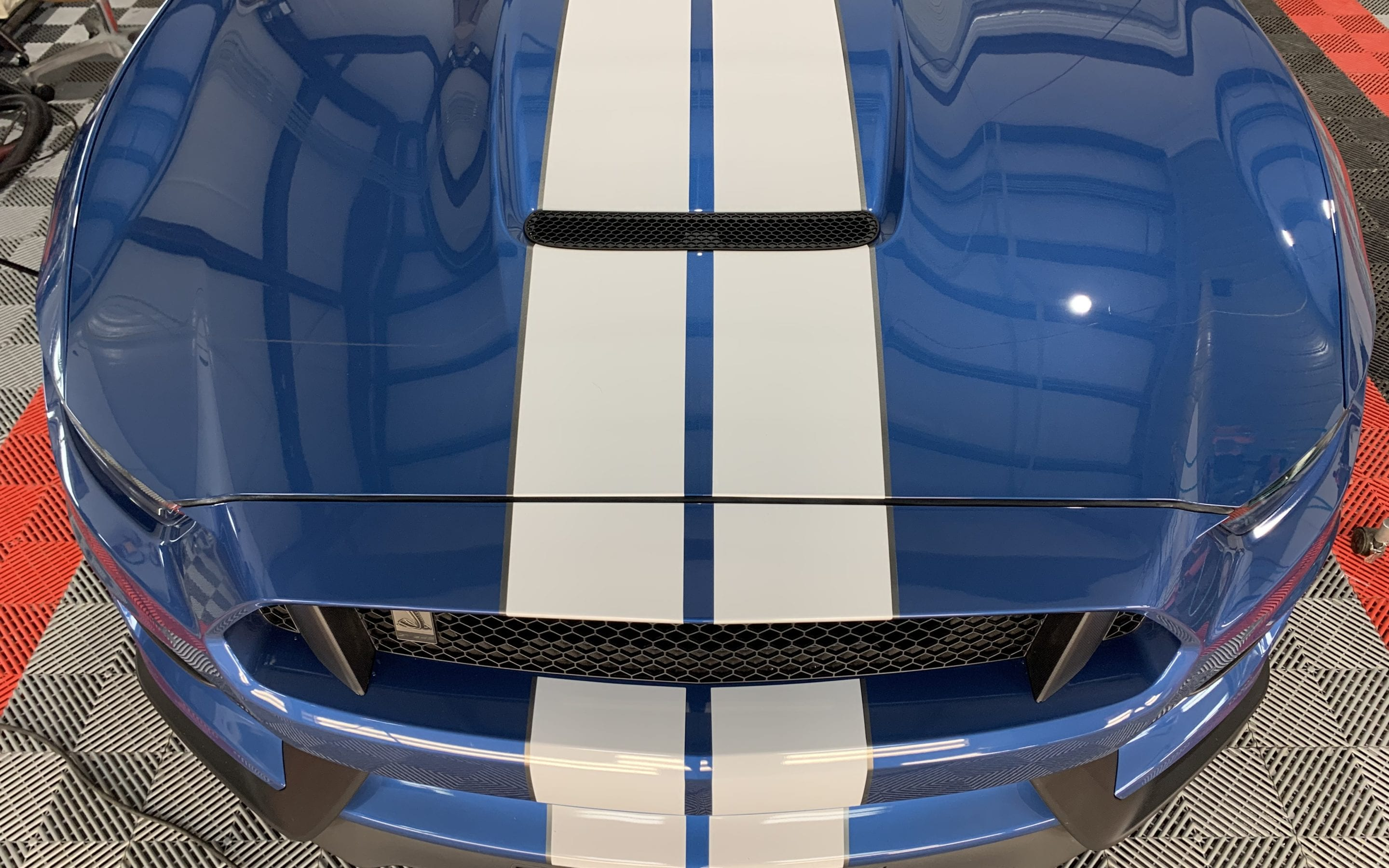 New Car Preparation of a 2019 Ford GT