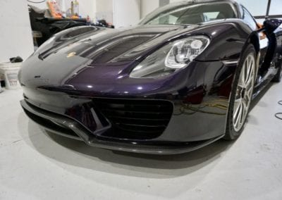Bob Ingram Porsche Collection Restoration Photos of 918 Porsche by August Precision