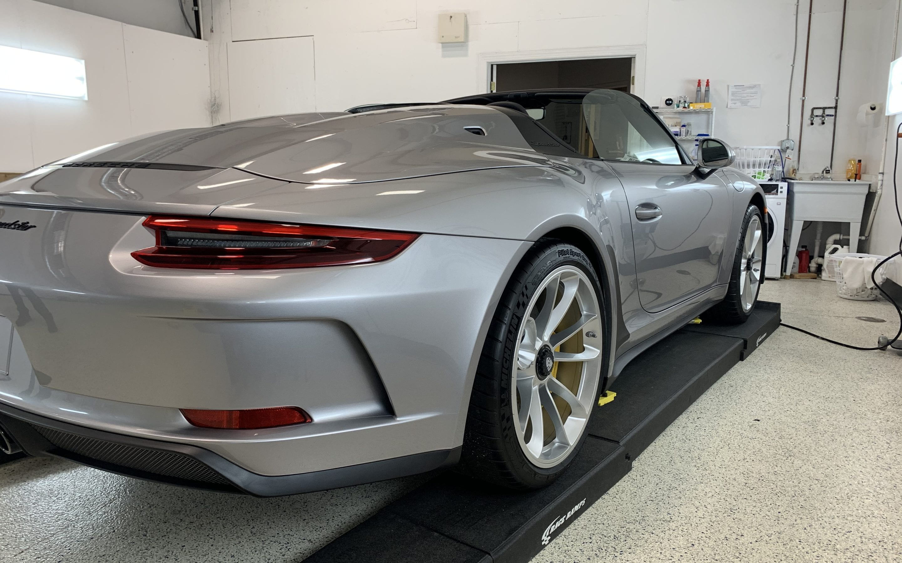 New Car Preparation of a 2019 Porsche 911