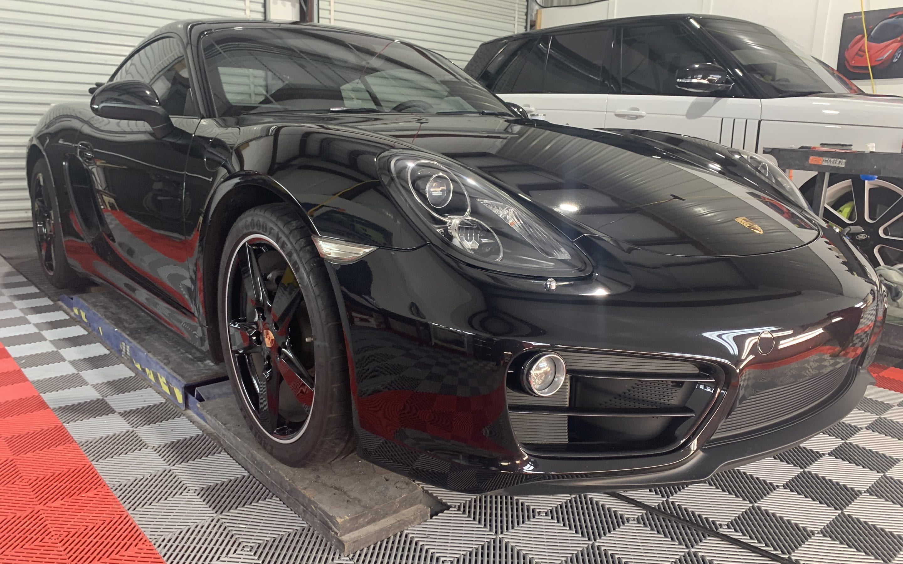 Paint Correction and Ceramic Coating of a 2015 Porsche Cayman