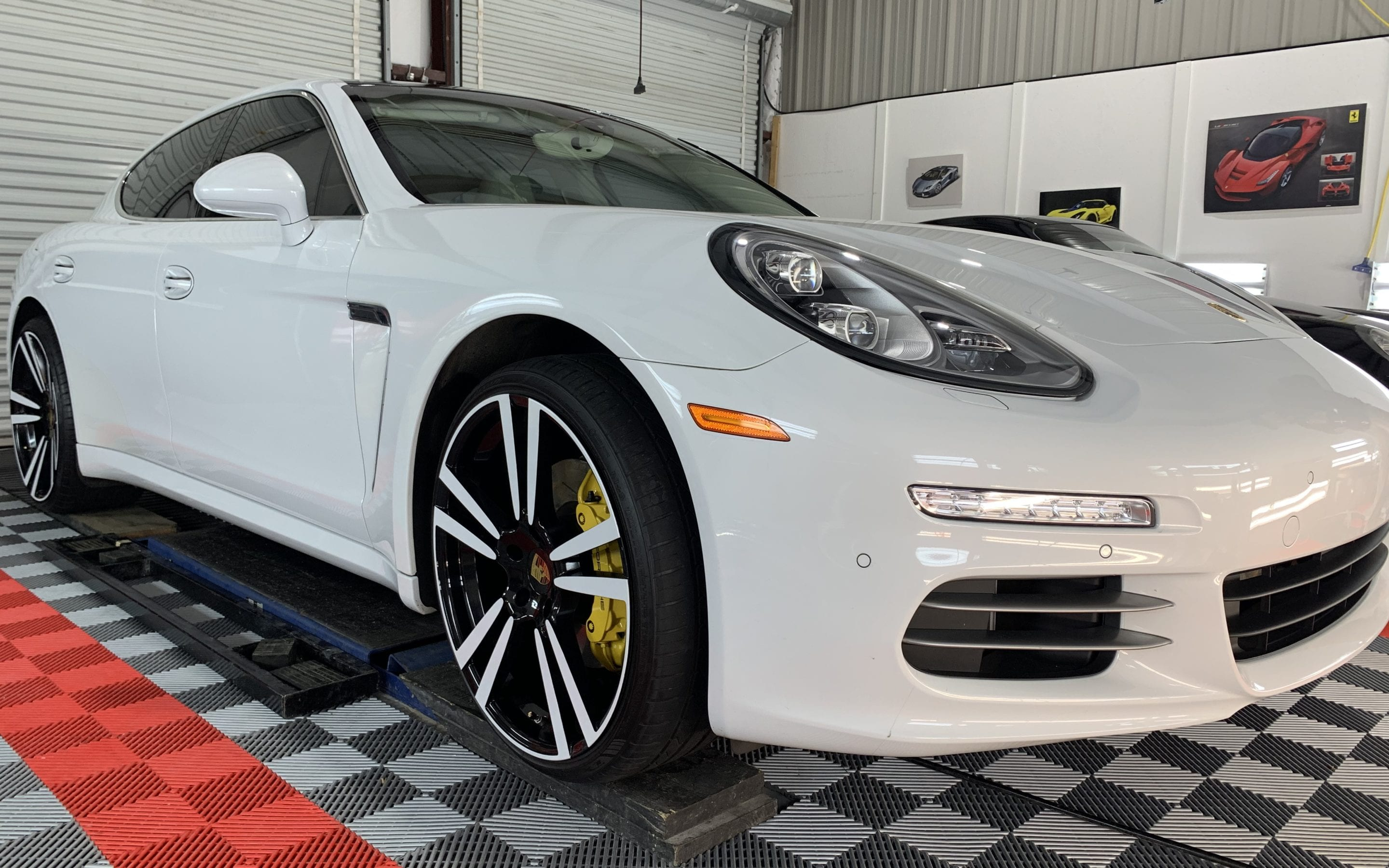 Ceramic Coating of a 2016 Porsche Panamera