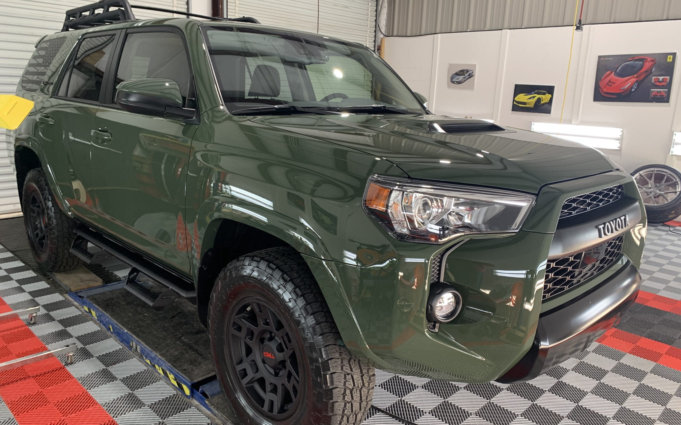 New Car Preparation of a 2019 Toyota 4Runner