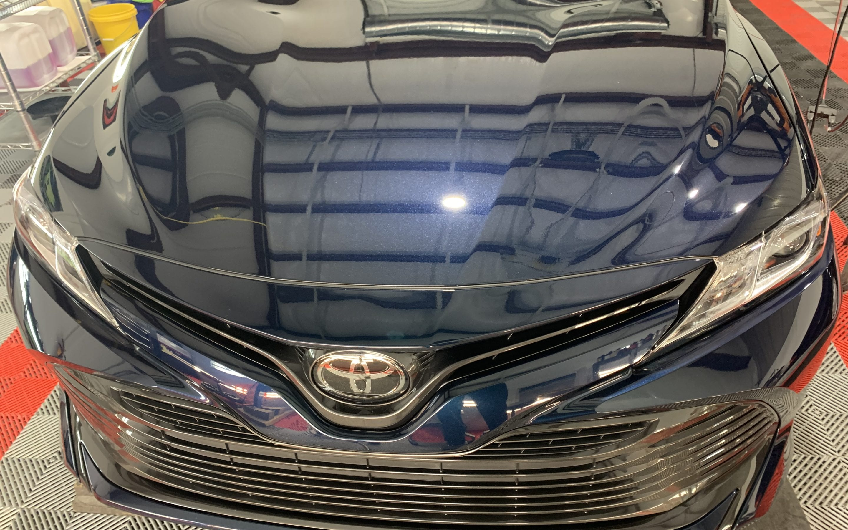 Toyota Camry Ceramic Coating by August Precision