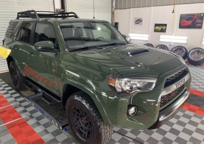 Photo of a New Car Preparation of a 2019 Toyota 4Runner