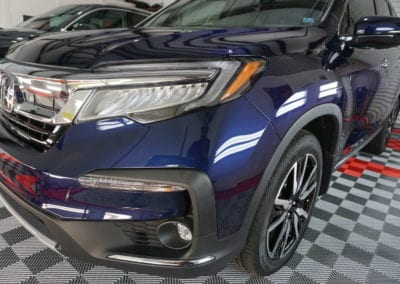 Photo of a New Car Preparation of a 2019 Honda Pilot