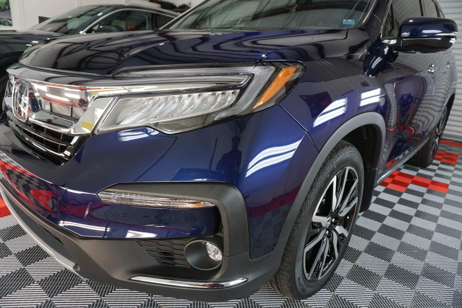 New Car Preparation of a 2019 Honda Pilot