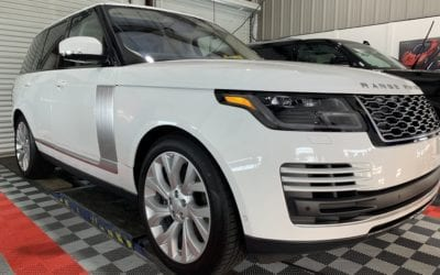 New Car Preparation of a 2019 Land Rover Range Rover