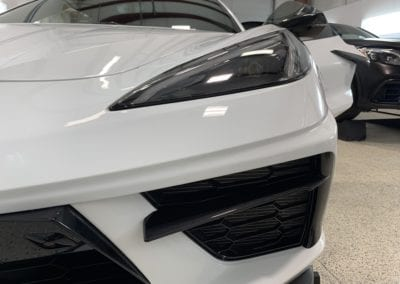 Photo of a New Car Preparation of a 2020 Chevrolet Corvette C8