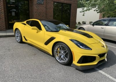 Photo of a Ceramic Coating of a 2019 Chevrolet Corvette
