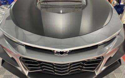 New Car Preparation of a 2019 Chevrolet Camaro