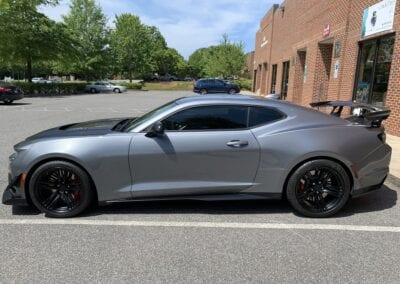 New Car Preparation of a 2019 Chevrolet Camaro Photo