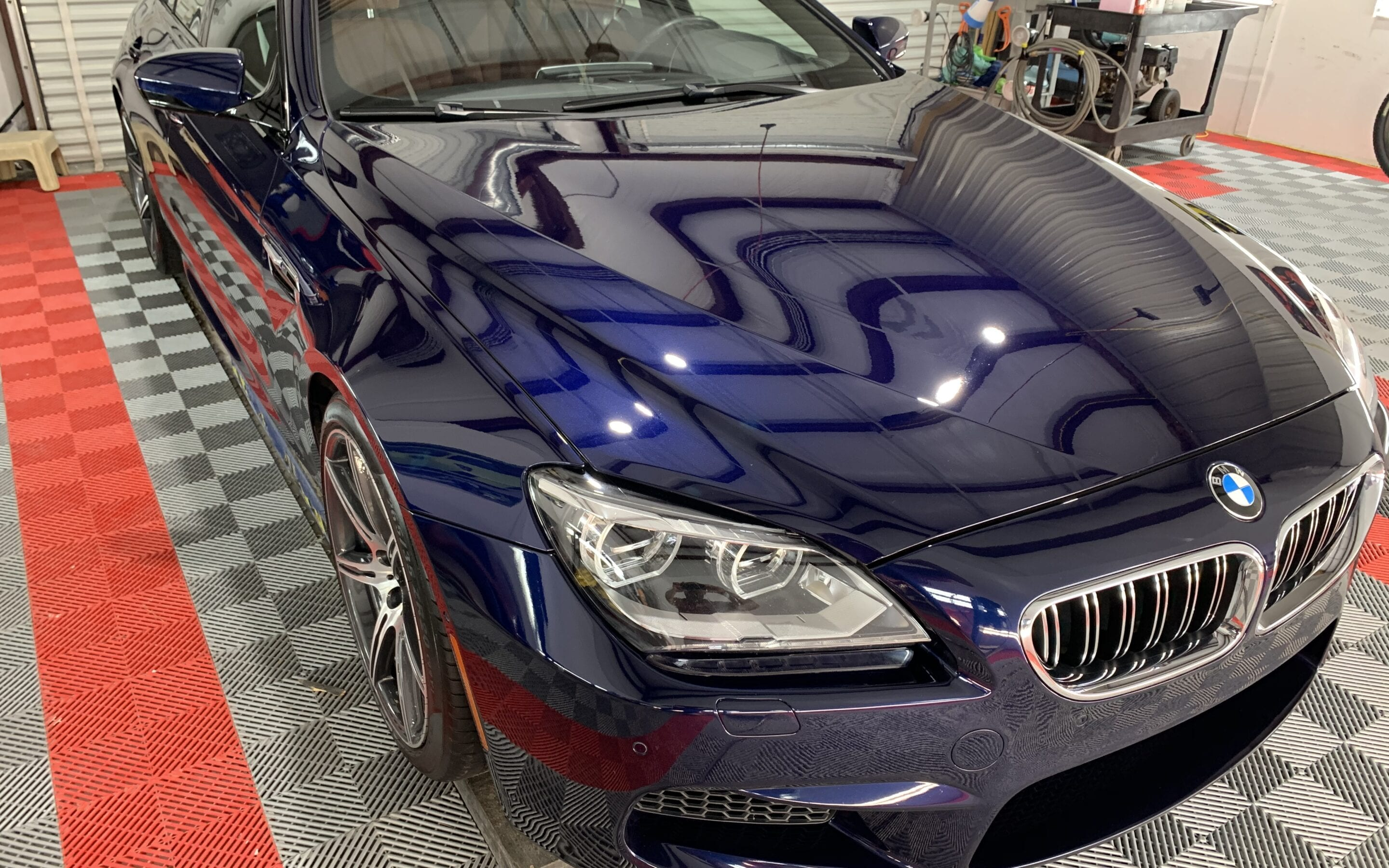 Ceramic Coating of a 2018 BMW 6 Series