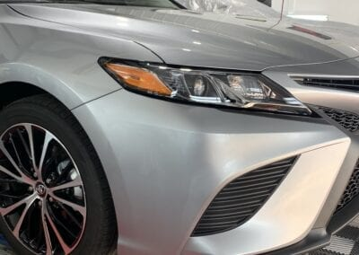 New Car Preparation of a 2019 Toyota Camry Photo