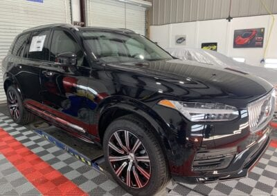Photo of a New Car Preparation of a 2019 Volvo XC90