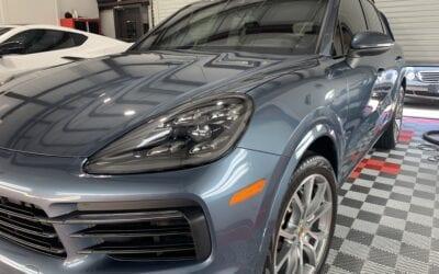 Premier Wash of a 2020 Porsche Cayenne