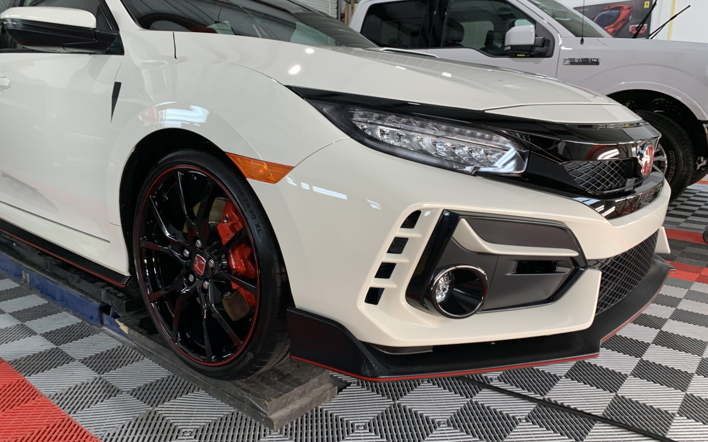 Ceramic Coating of a 2020 Honda Civic