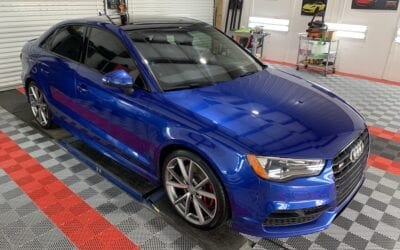 Ceramic Coating of a 2019 Audi A3 or S3 or RS3