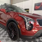Photo of a New Car Preparation of a 2020 Cadillac XT4