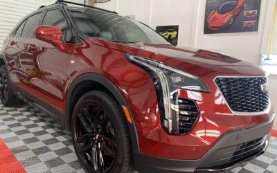 New Car Preparation of a 2020 Cadillac XT4