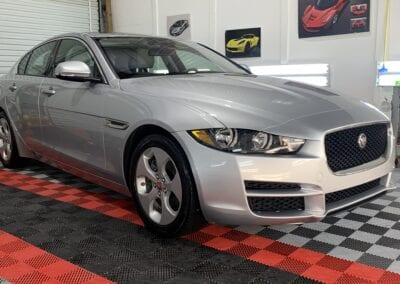 Photo of a Full Detail of a 2018 Jaguar XE