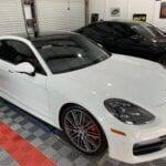 Photo of a New Car Preparation of a 2019 Porsche Panamera