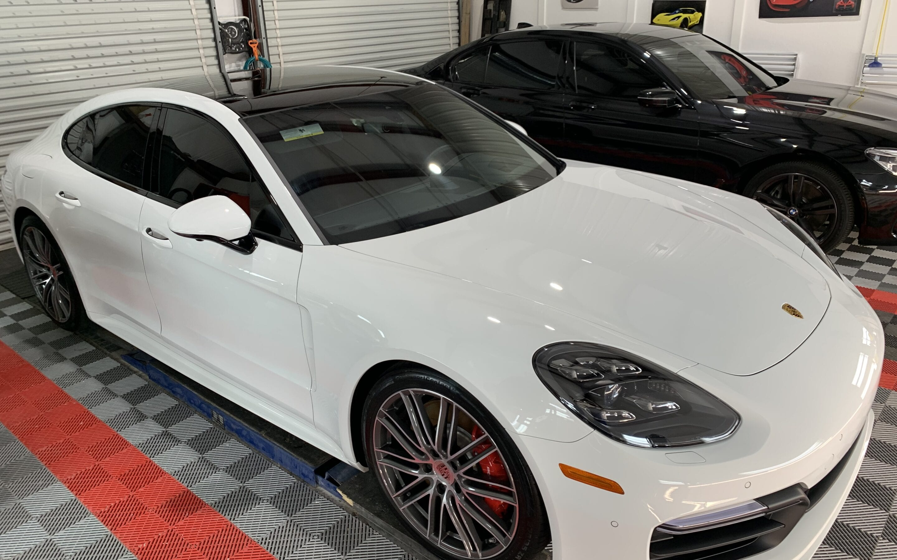 New Car Preparation of a 2019 Porsche Panamera