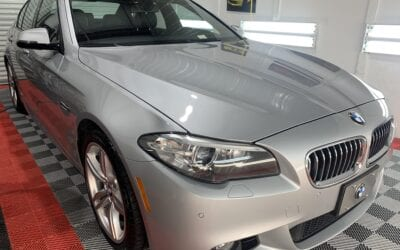 Ceramic Coating of a 2013 BMW 5-Series M5