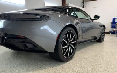 New Car Preparation of a 2020 Aston Martin DB11