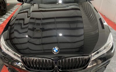 Ceramic Coating of a 2016 BMW 7-Series