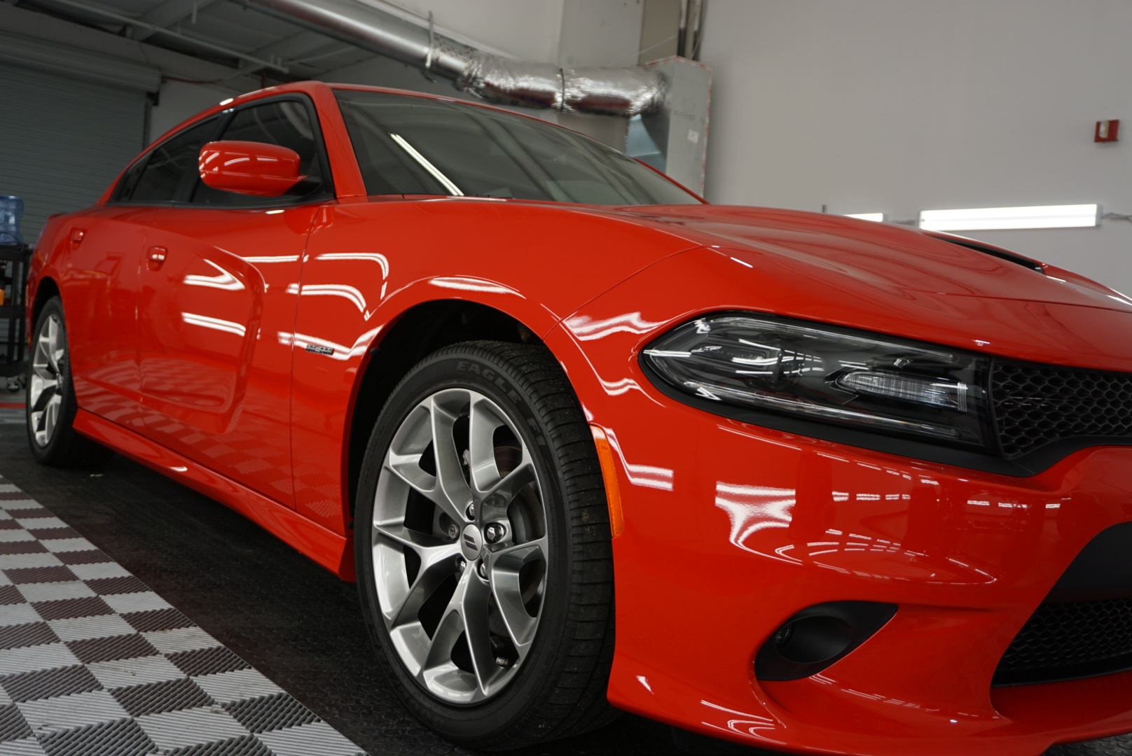 Photo of a Ceramic Coating of a 2018 Dodge Charger