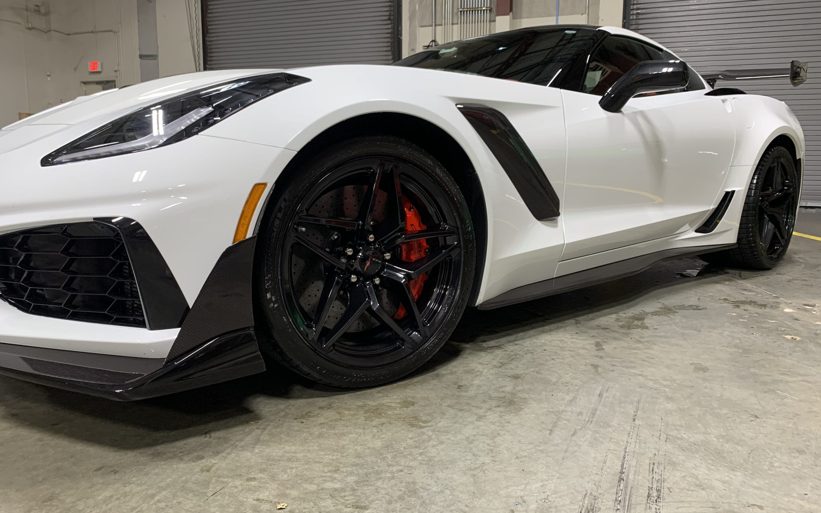 New Car Preparation of a 2019 Chevrolet Corvette
