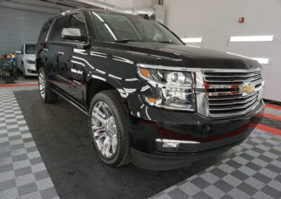 Photo of a New Car Preparation of a 2020 Chevrolet Tahoe