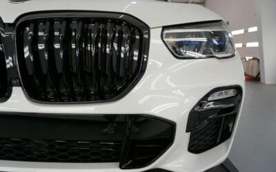 New Car Preparation of a 2020 BMW X5