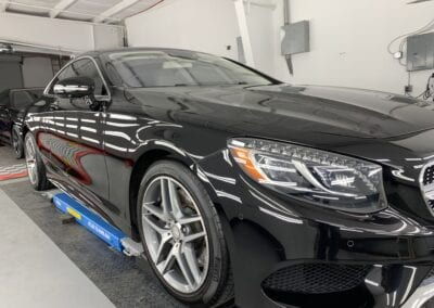 Photo of a Ceramic Coating of a 2014 Mercedes S-Class