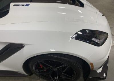 Photo of a New Car Preparation of a 2019 Chevrolet Corvette