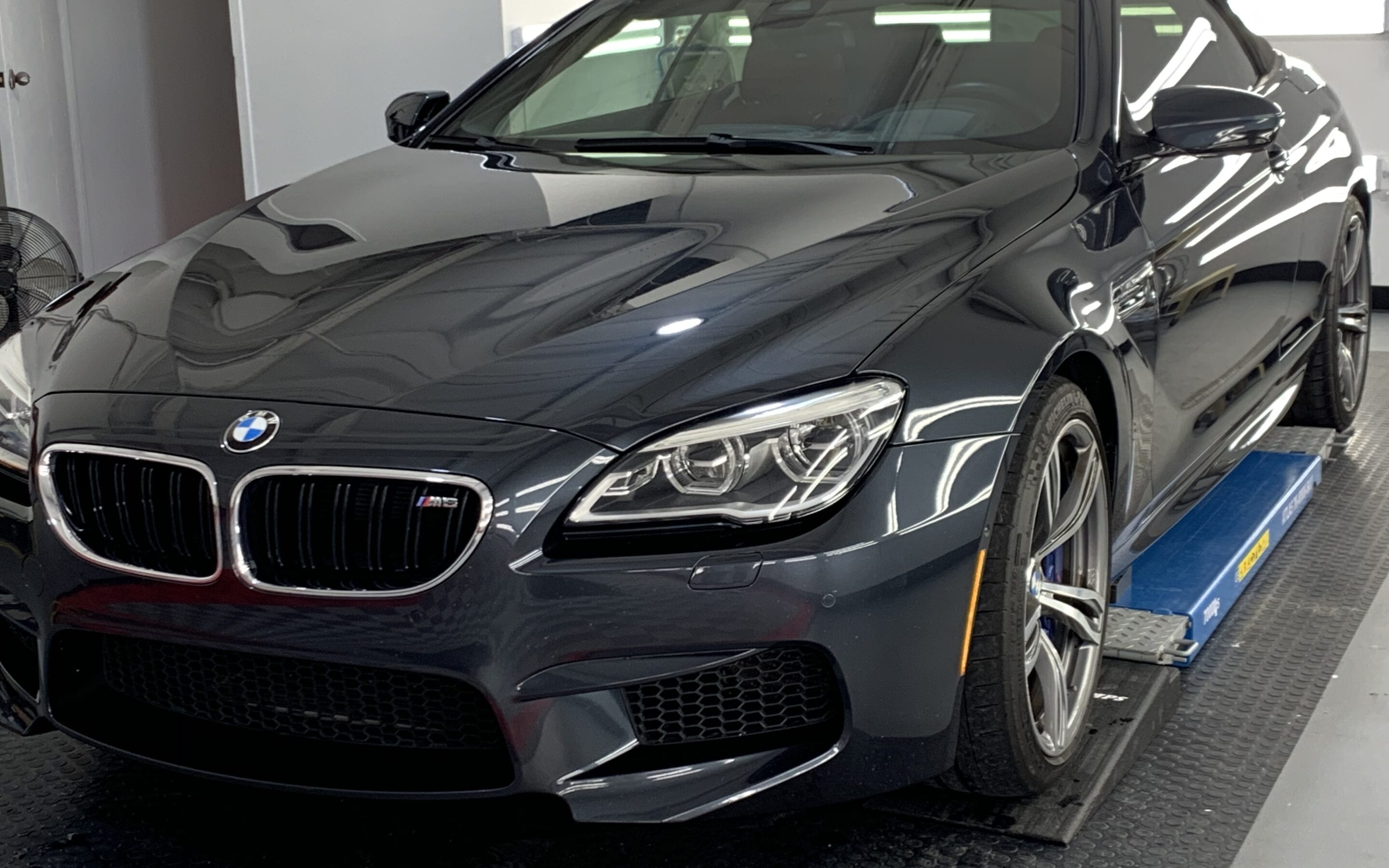 Ceramic Coating of a 2018 BMW 6-Series M6