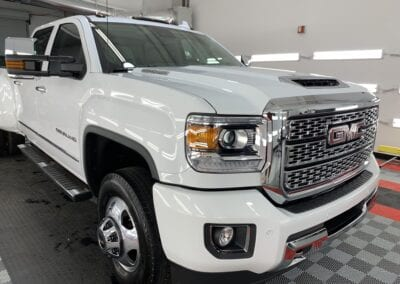 Photo of a Full Detail of a 2017 GMC Sierra