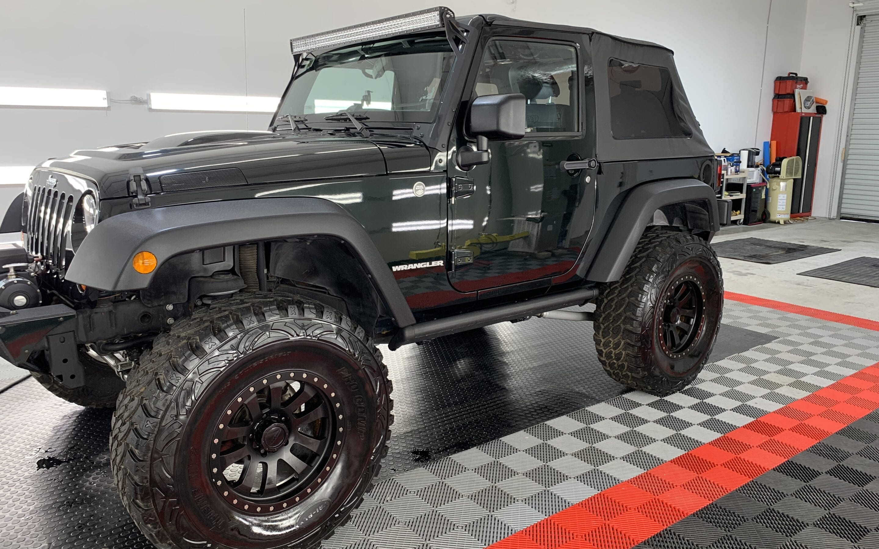 Photo of a Full Detail of a 2016 Jeep Wrangler