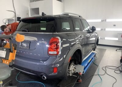 Photo of a New Car Preparation of a 2020 MINI Countryman