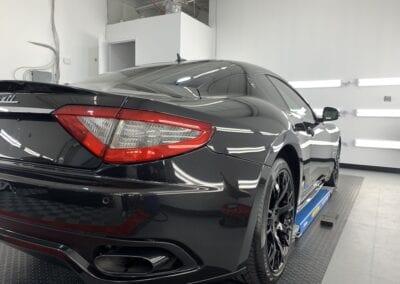 Photo of a Ceramic Coating of a 2013 Maserati GranTurismo
