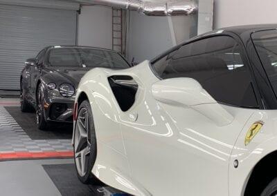 Photo of a New Car Preparation of a 2020 Ferrari F8 Tributo