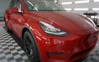 Ceramic Coating of a 2020 Tesla Model X