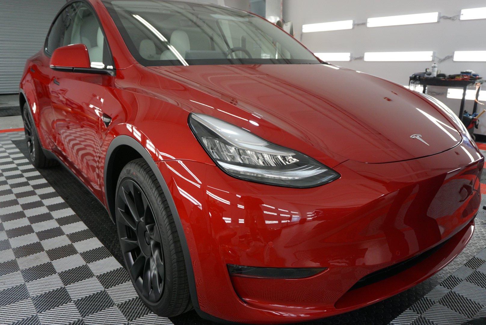 Ceramic Coating of a 2020 Tesla Model X