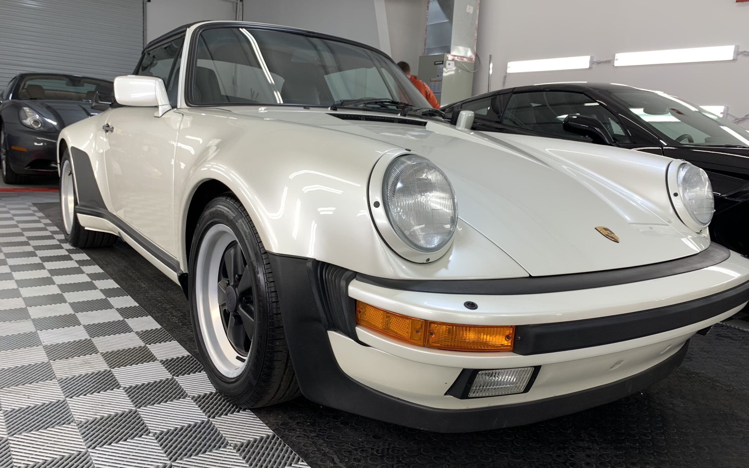 Ceramic Coating of a 1988 Porsche 911