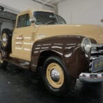 Photo of a Paint Correction of a 1954 Chevrolet Advance Design
