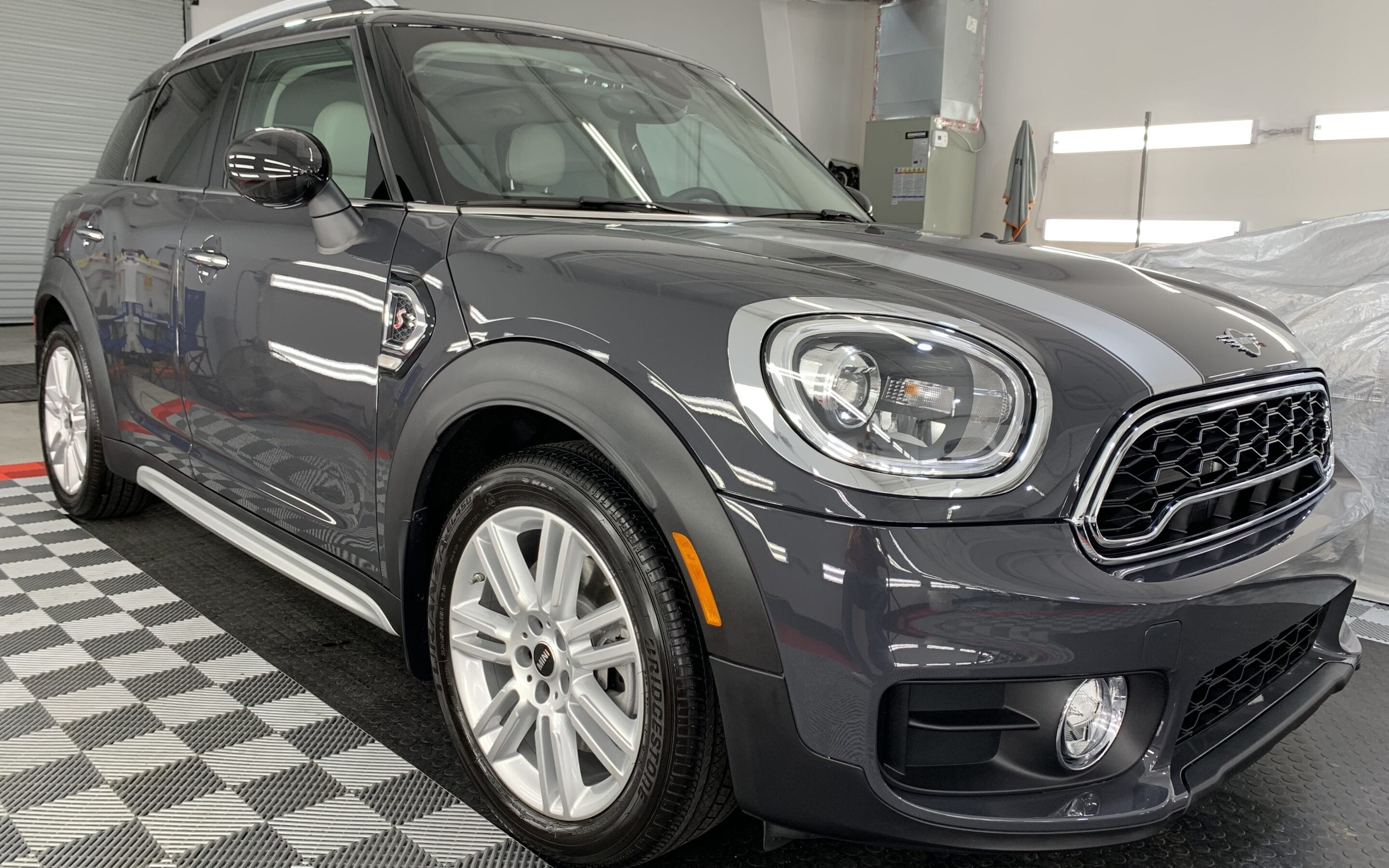 New Car Preparation of a 2020 MINI Countryman