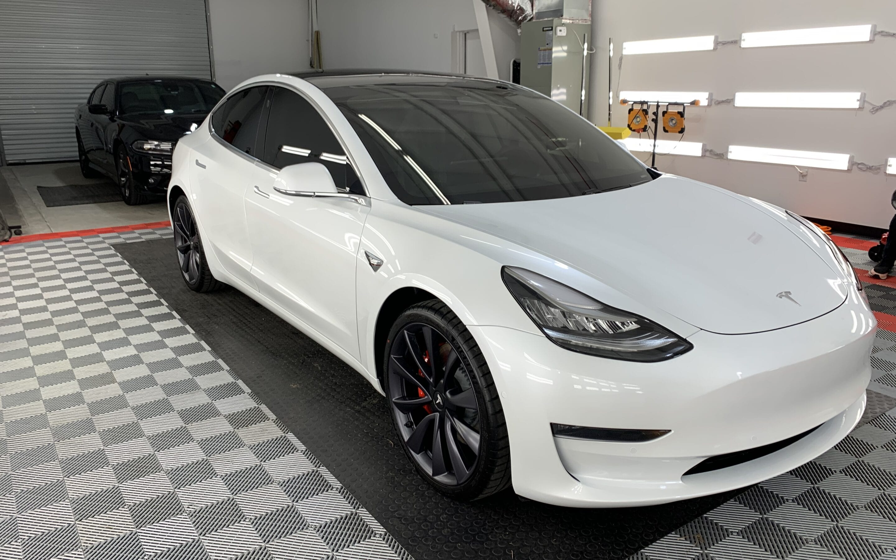 New Car Preparation of a 2019 Tesla Model 3